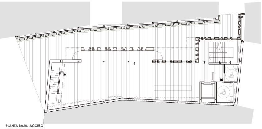 Fachada muro cortina modular paneles aluminio centro-recepcion-turistas-burgos-06