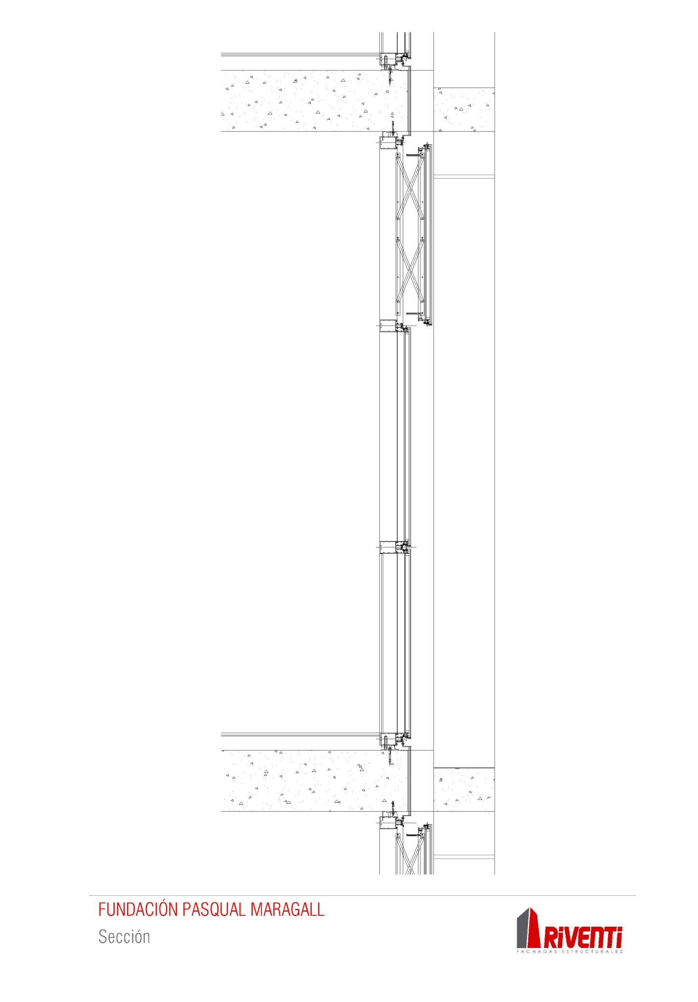 Fachada-fundacion-pasqual-maragall-muro-cortina-riventi_detalle constructivo