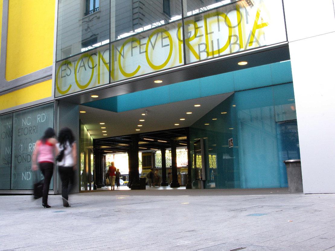 Fachada Estación Feve Concordia Riventi