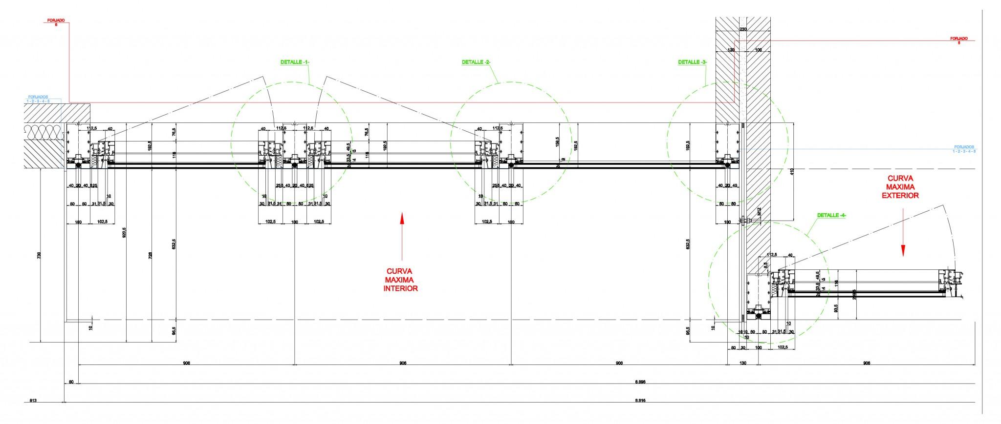 Detalle constructivo muro cortina _ viviendas-hurtado-amezaga-riventi_plano05