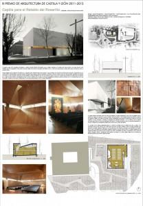 Panel Capilla Retablo del Rosarillo IX Premio Arquitectura