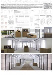 IX Premios Arquitectura Centro interpretación resina Cartel