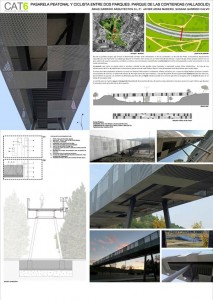 IX Premios Arquitectura Pasarela Peatonal