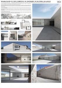 IX Premios Arquitectura Patio Doméstico
