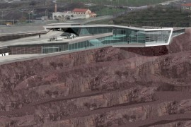 museo-minero-gallarta_riventi_imb Fachada Muro Cortina