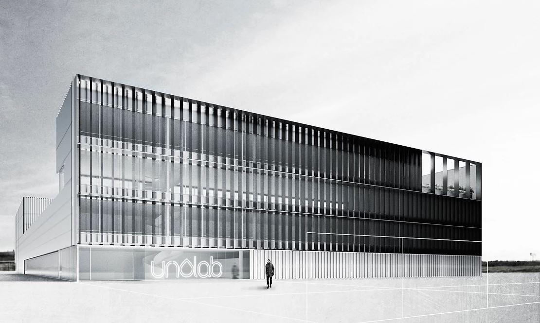 R-205_fachada UNOLAB_render